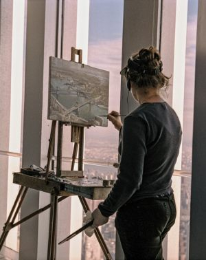 An Artist Who Was On Top of the World Center Web
